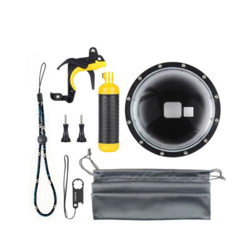 7 waterproof dome port lens cover diving