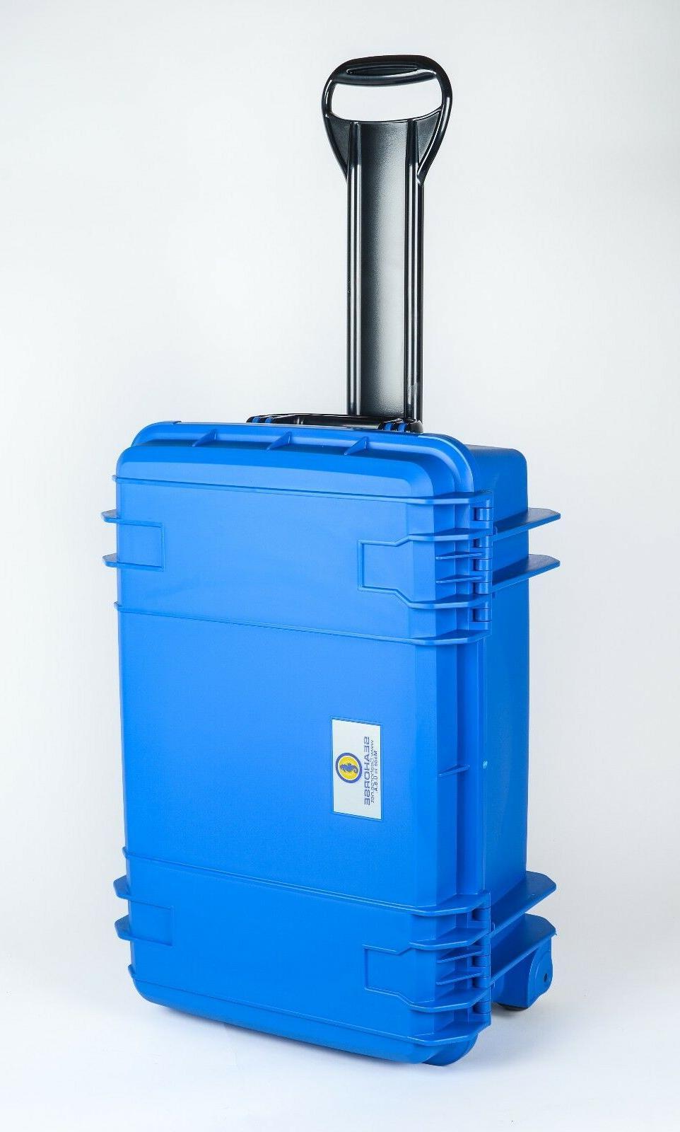 920 Blue SE920 & Pelican TSA- Lock.