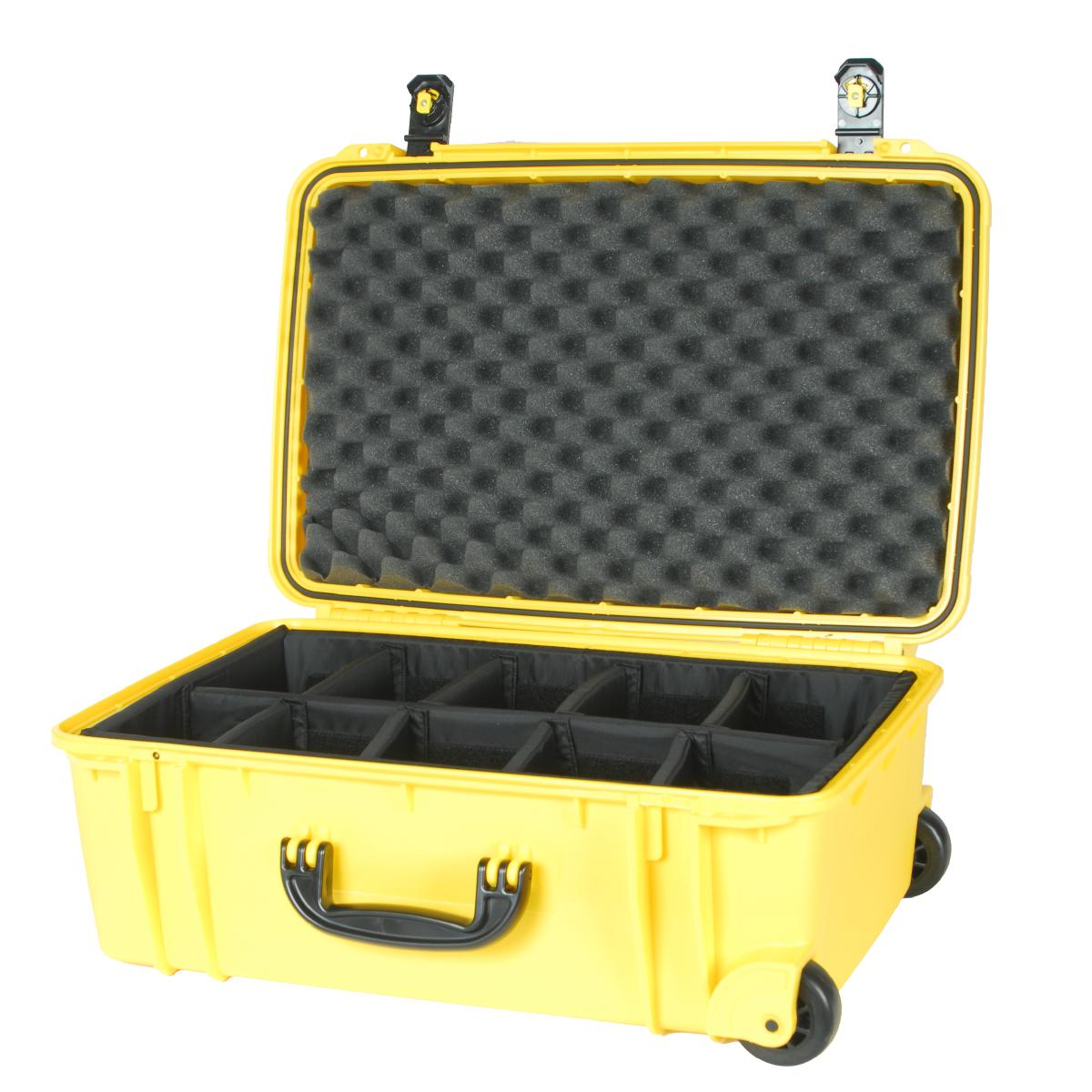 920 yellow se920 case with padded dividers