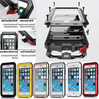 Aluminum Waterproof Shockproof Metal Gorilla Hard Cover Case