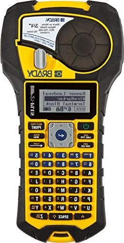 Brady BMP21-PLUS Handheld Label Printer with Rubber Bumpers,