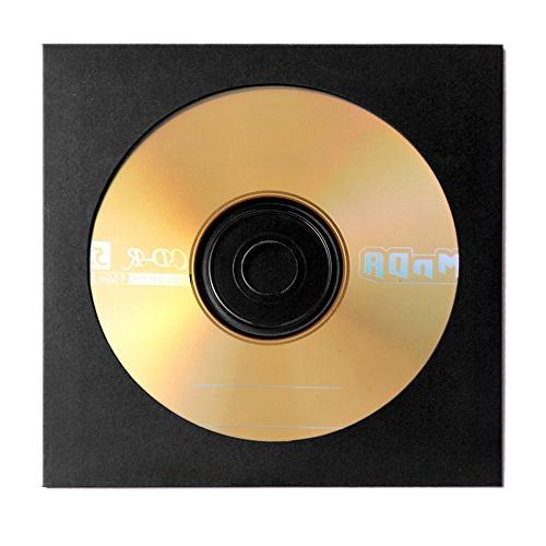Flexzion DVD Thick Paper Standard Storage Premium Cut Out for Game Disc