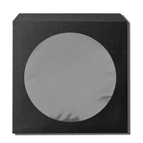Flexzion DVD Standard Envelope Display Storage Cut Out for Movie Game Disc