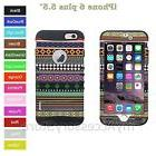 """For 5.5"""" iPhone 6S+ Plus Aztec Tribal Pattern RKR ShockProof"""
