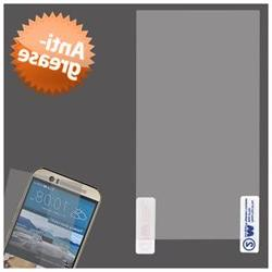 For HTC One M9 Clear Anti-grease LCD Screen Protector w/ clo