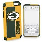 For iPhone 6 / 6s Green Bay Packers Bold Dual Hybrid 2 Piece