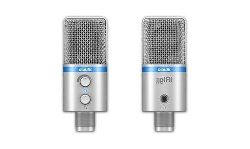 IK Multimedia iRig Mic Studio digital studio microphone for