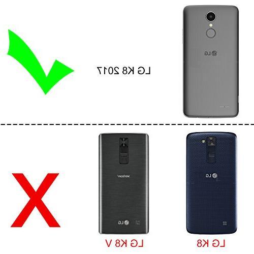 LG Aristo Case, LG Fortune/Phoenix 3/MS210 M210/k8 2017/Risio
