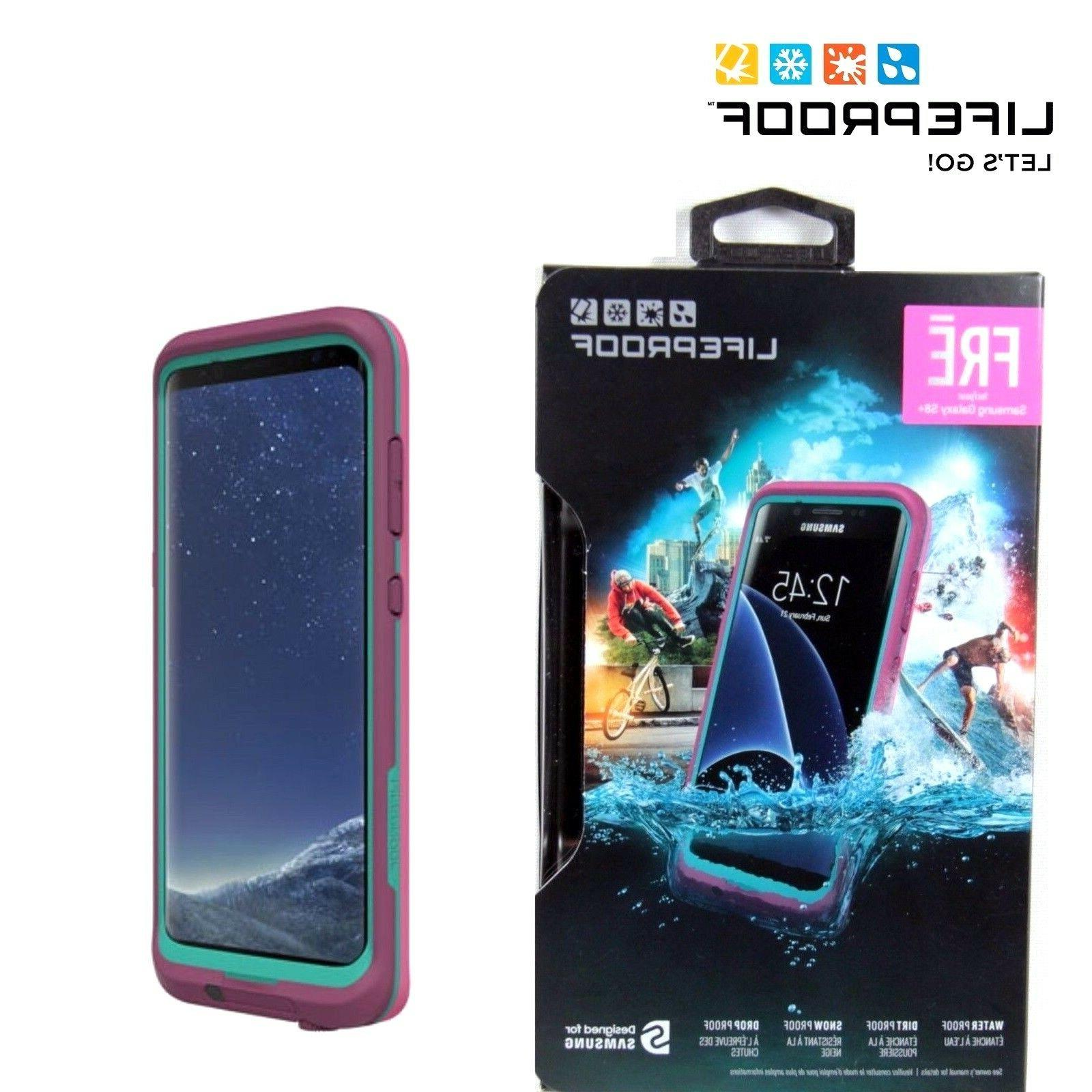 new products 649a2 c0936 LifeProof 77-54859 FRĒ Series Waterproof Case for Samsung Galaxy S8+ -  Retail Packaging - TWILIGHTS Edge