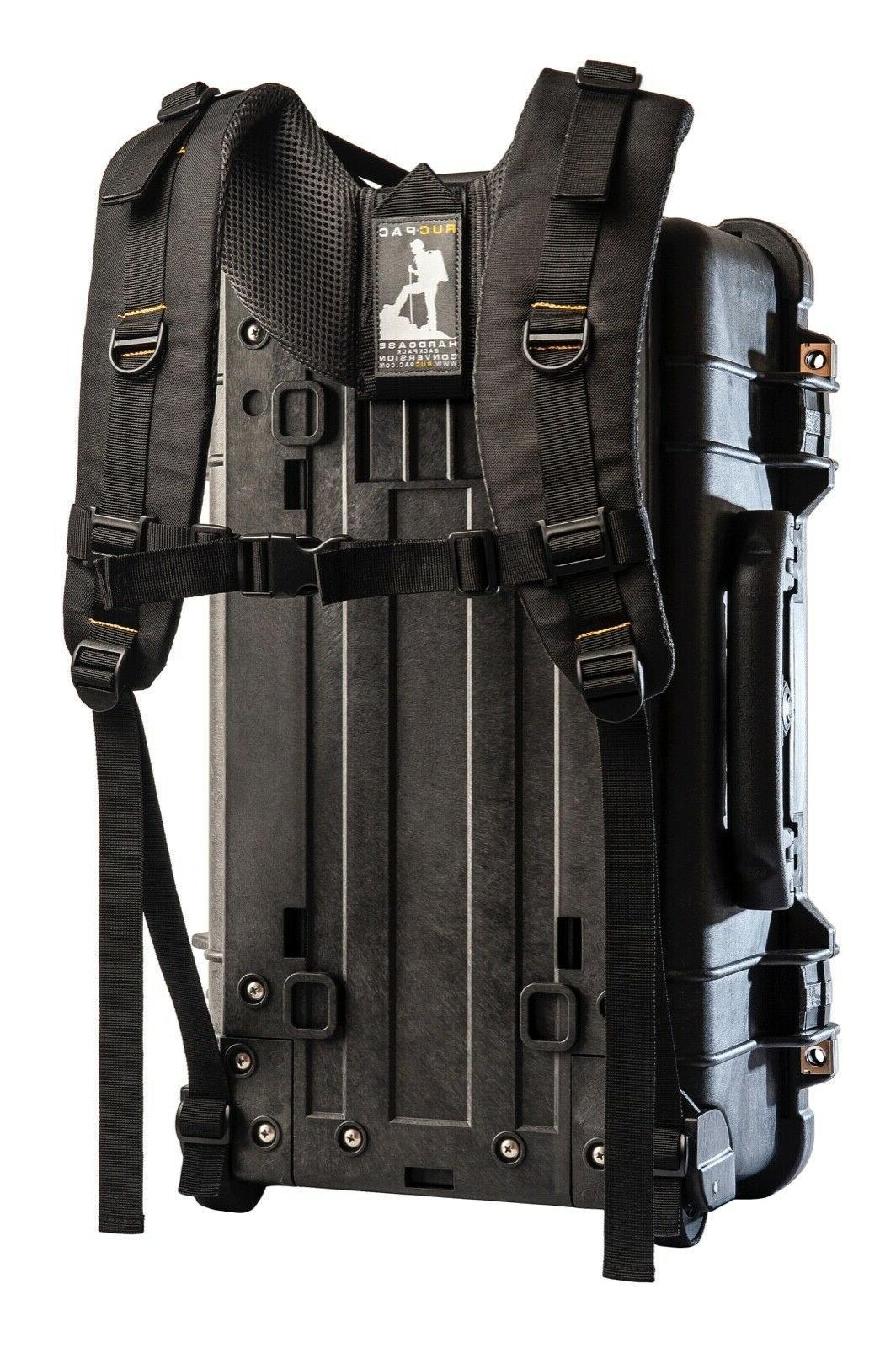 e39cee7e36 RucPac Hardcase Backpack Conversion for Peli/Pelican 1510/1535/1560+/ &