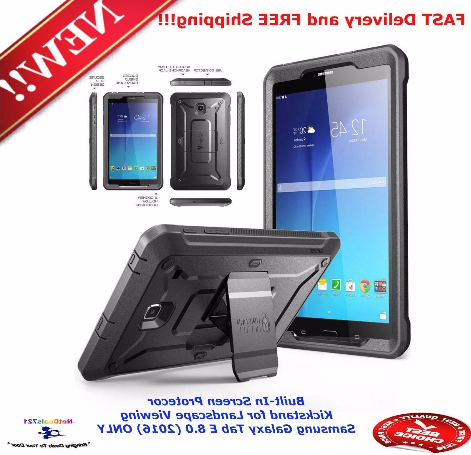 buy online c39fc cc7fb SUPCASE for Samsung Galaxy Tab E 8.0 Case.