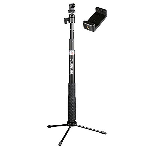 Smatree Q3 Telescoping Selfie Stick with Tripod Stand for Go