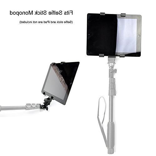 Vastar iPad Mount Universal Tripod Adapter for iPad Galaxy Microsoft Surface,Google Nexus,Selfie Pro 10.5