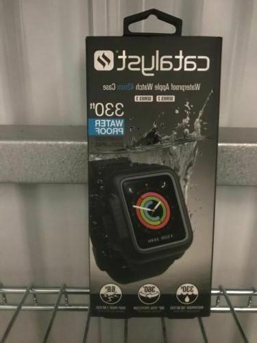 Waterproof Apple Watch Case 42mm Series 2 & 3 With Premium S