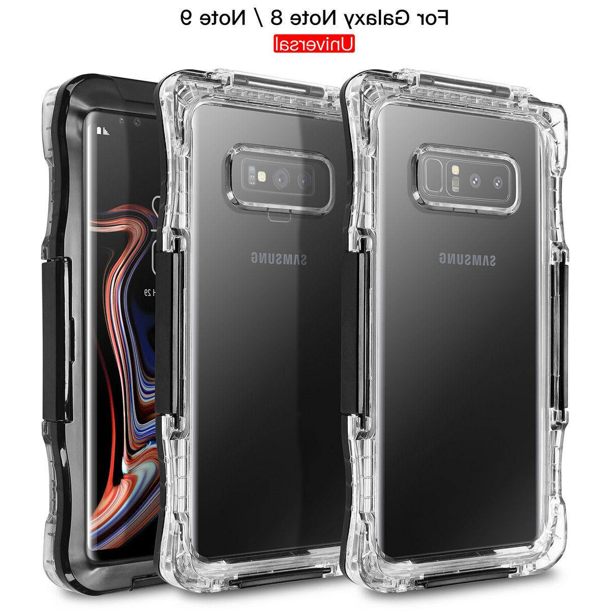 Waterproof Shockproof Hard Case Cover Samsung S9 Note 10 9 8 S7