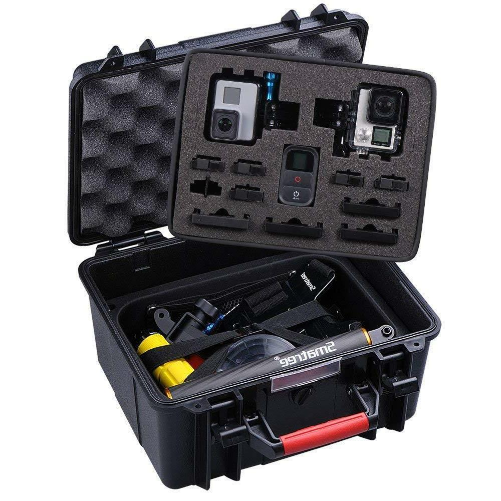 Smatree ABS Waterproof Hard Carry Case for Hero 7 5 4 3+,Gopro