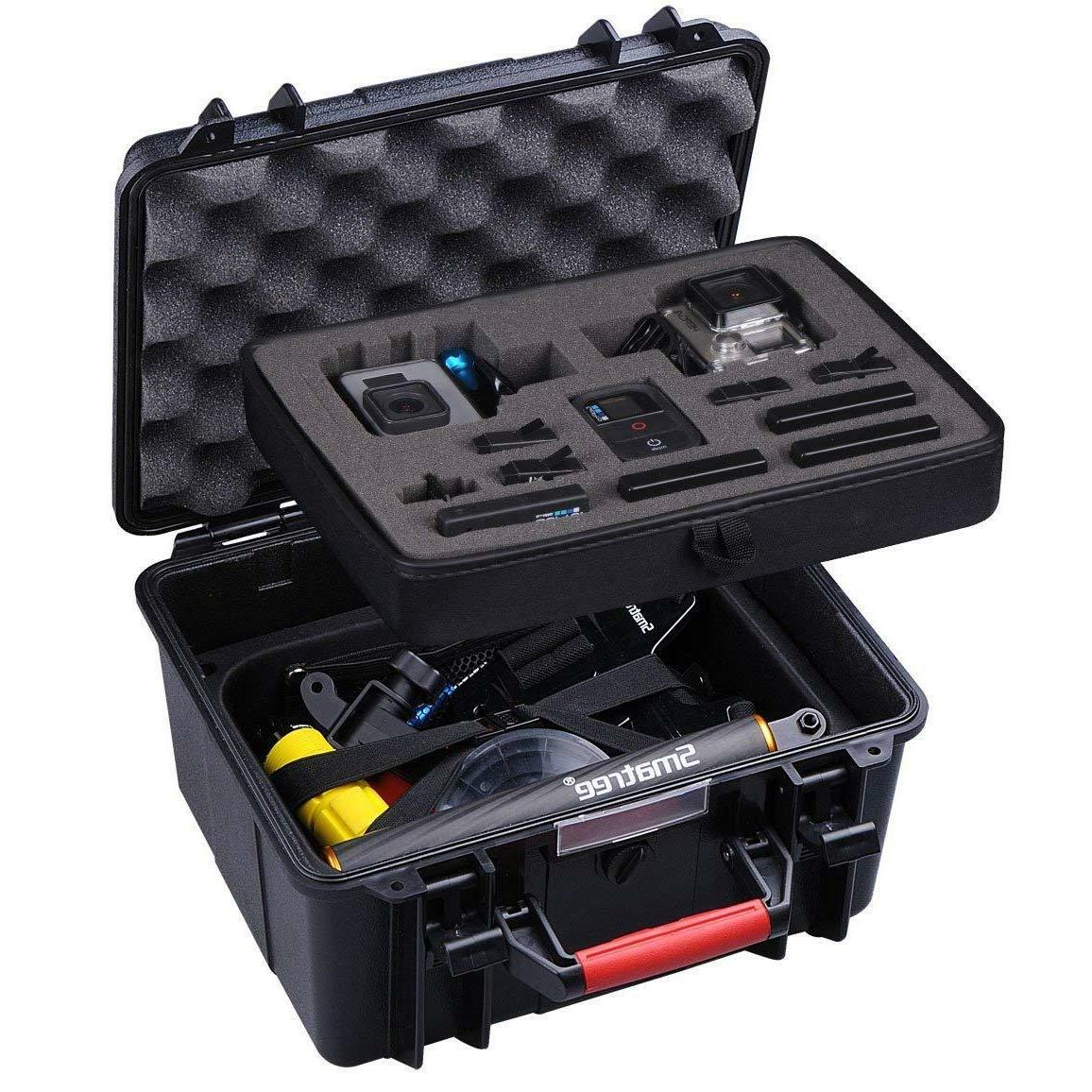 abs waterproof hard carry case for gopro