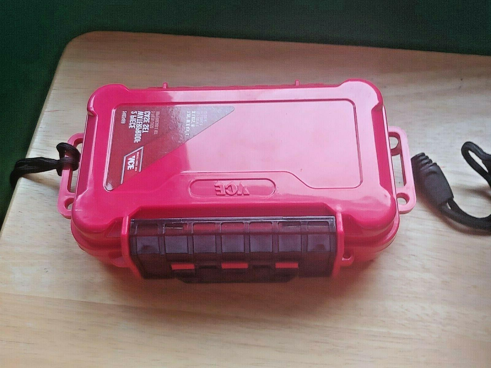 Ace Waterproof Case Plastic 2 compartments Black