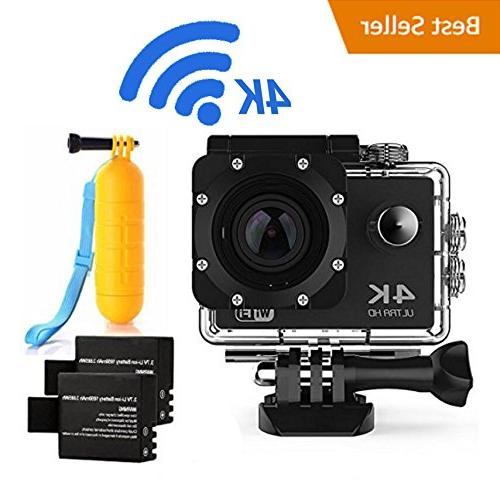 action 4k16mp wifi waterproof diving