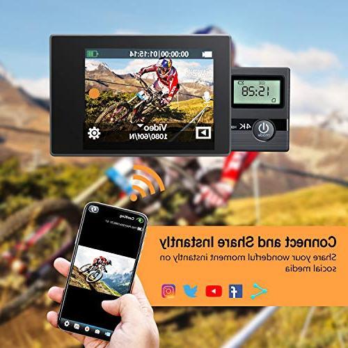 FITFORT 16 Wi-Fi HD 170 2 LCD 2Pcs 19 Black