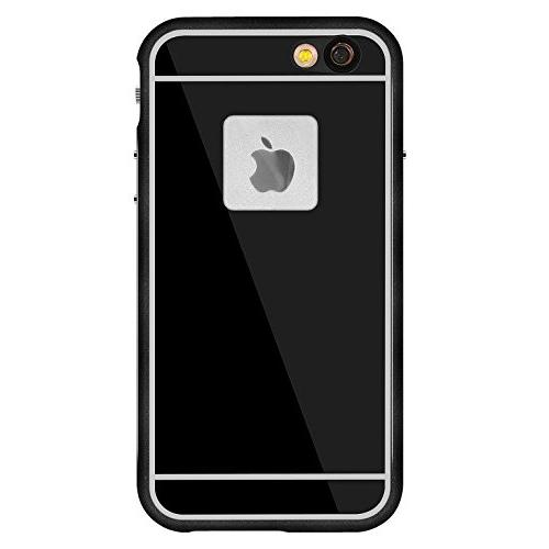Aluminum Alloy iPhone 6s Waterproof Case, Waterproof Dustproof SnowProof Full Function Cover -Black