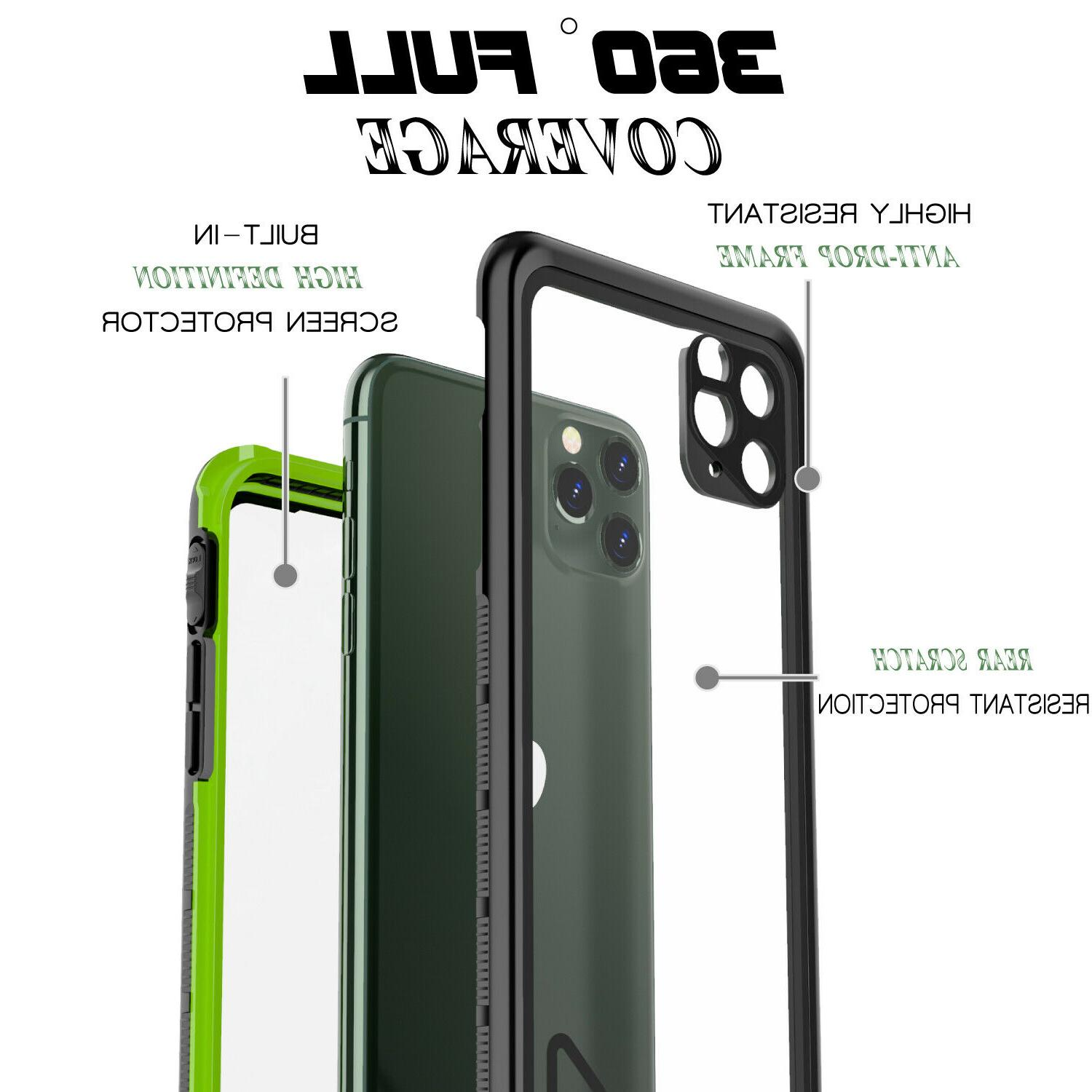 For Apple iPhone / 11 Pro Max Case Waterproof Snowproof