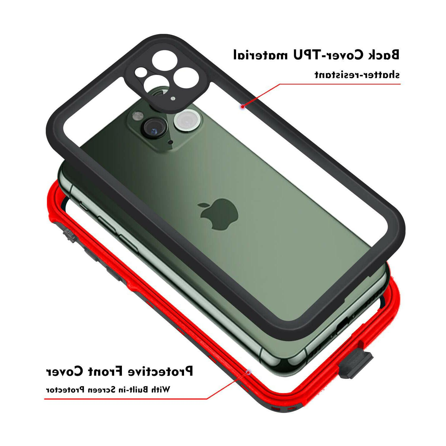 For Apple iPhone Pro Case Cover Screen Protector 11