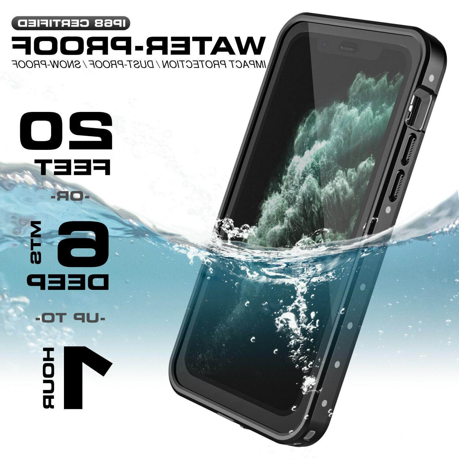 For / Pro Max Case Waterproof Screen Protector Series