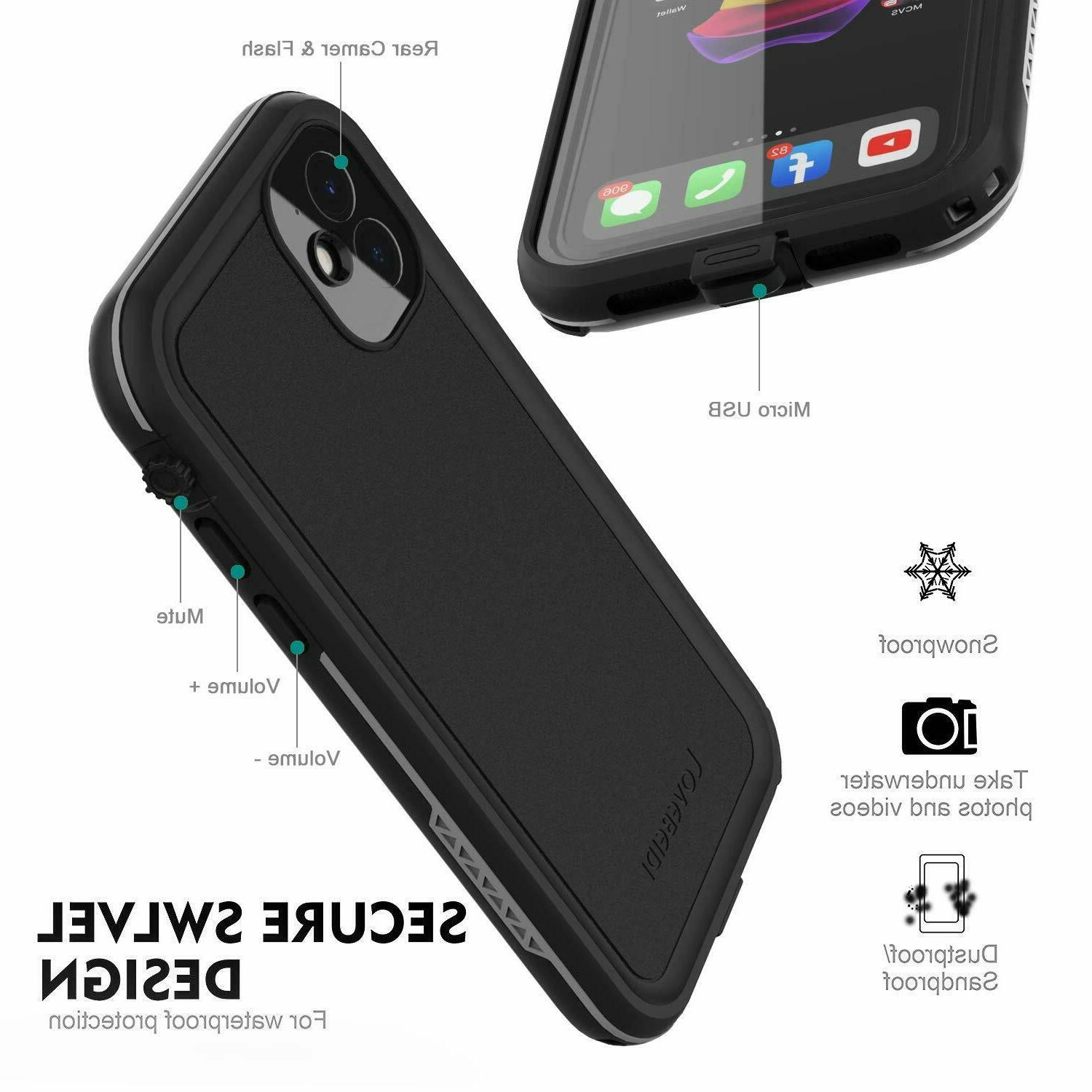 Apple iPhone 11 Case Shockproof Dropproof Built-in Screen