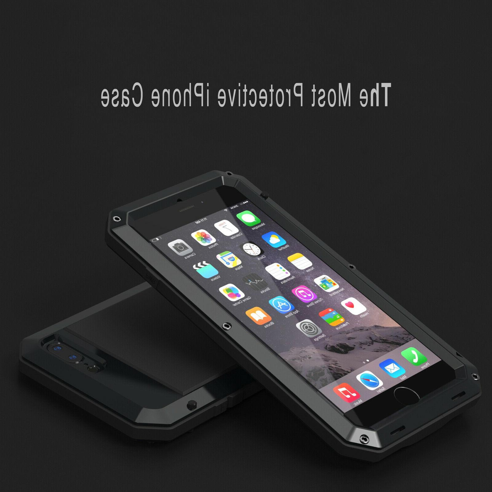 For iPhone 6 6S 7 8 Shockproof Heavy Cover