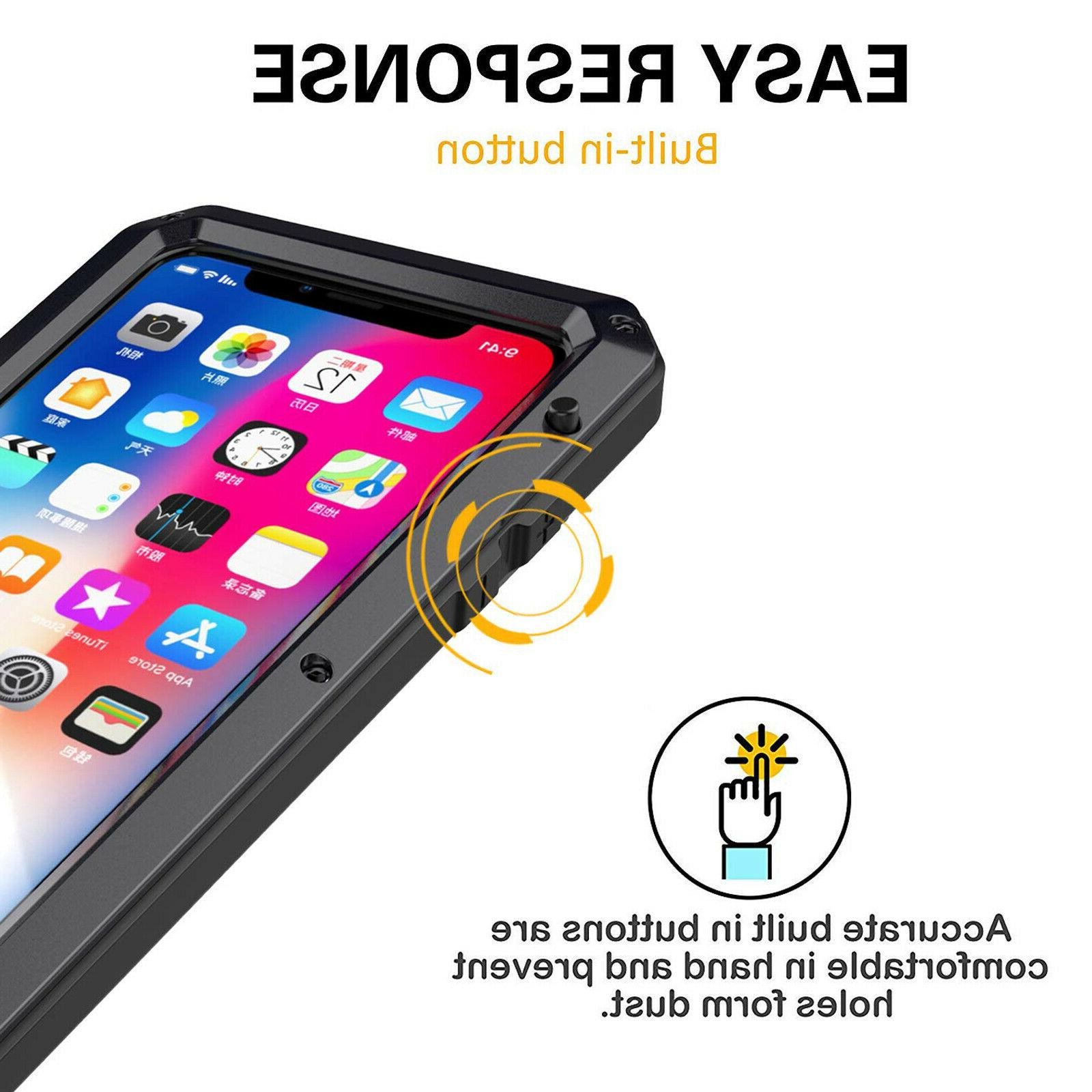 For iPhone 6 6S 8 XR MAX Shockproof Cover