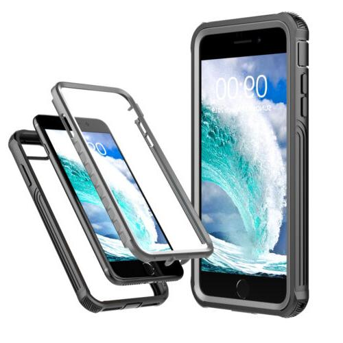 For Apple iPhone / Case Shockproof w/ Screen Protector