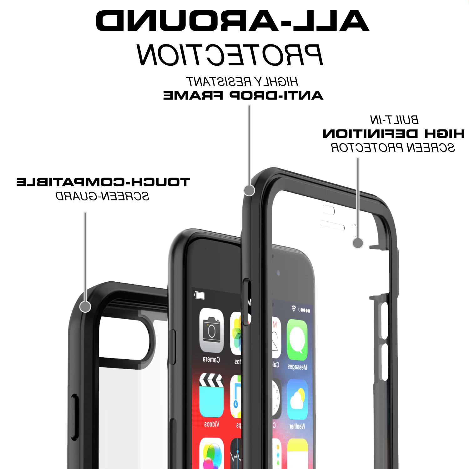 For Apple / 8 Cover Shockproof Waterproof Screen Protector