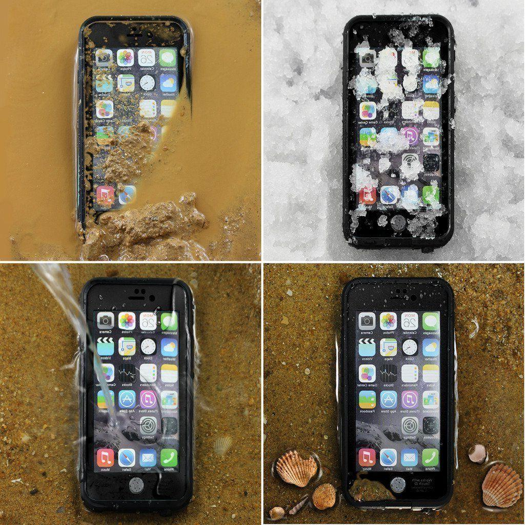 For Apple iPhone 8 Plus Cover with Built-in Screen Protector