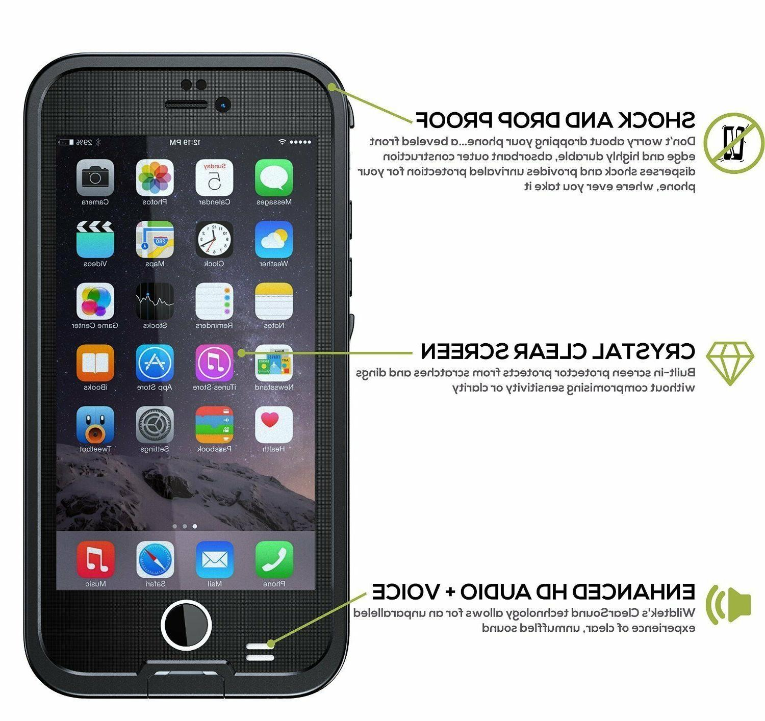 For 8 Waterproof Case with Protector