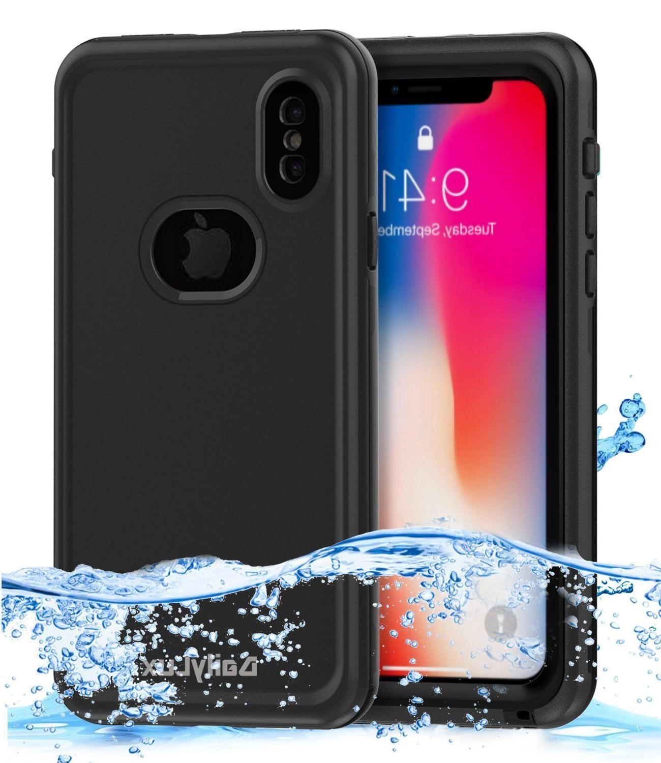 Apple iPhone X Case Waterproof Shockproof Underwater Cover w