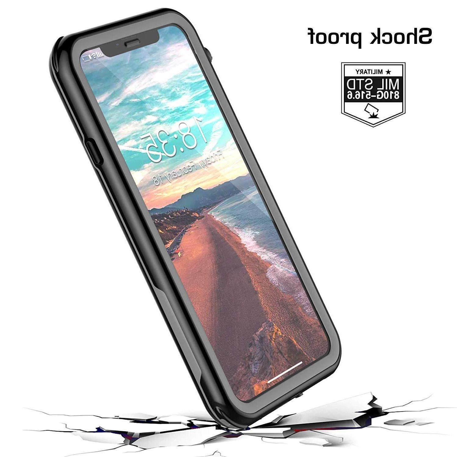 For iPhone XR Waterproof Case Cover Defender Shockproof 6.1""