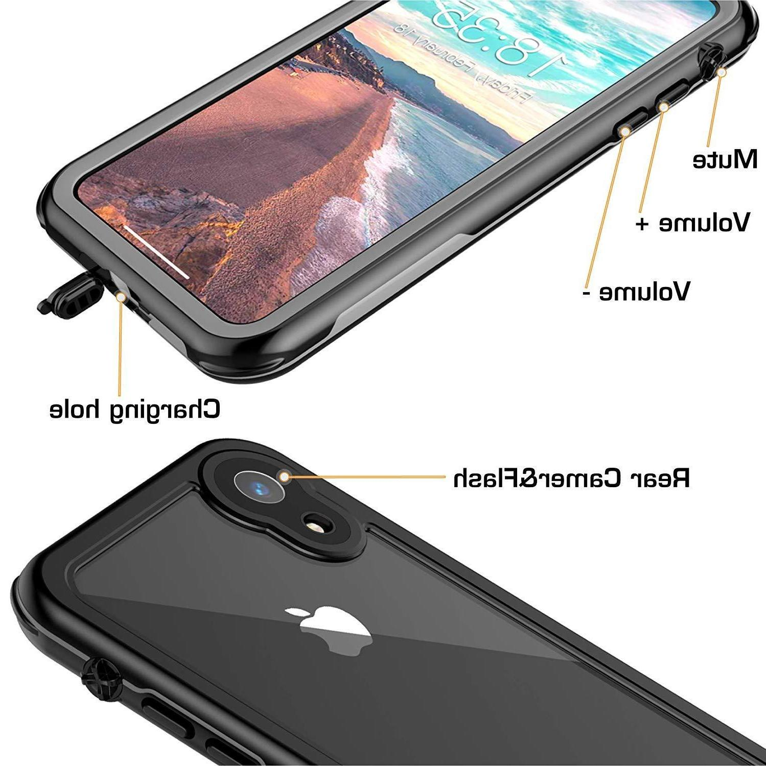 For XR Waterproof Case Cover Shockproof Series