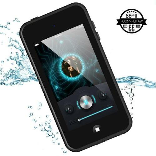For Apple iPod Touch 5 6th Waterproof Case Cover with Built-