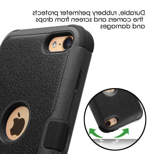 Apple iPod Touch 5 iPod Touch 6 Protector Case Hybrid Triad