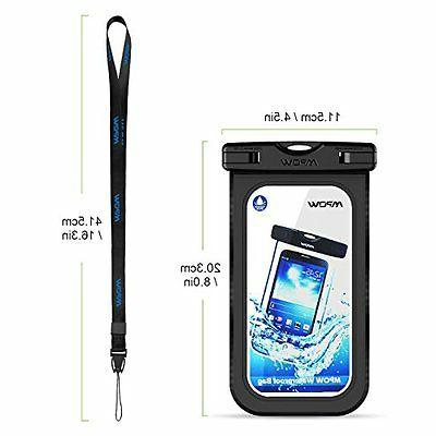 """Bag Dry Cellphone Pouch 6"""" Sports"""