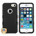 MYBAT Natural Black/Black TUFF Hybrid Phone case for APPLE i
