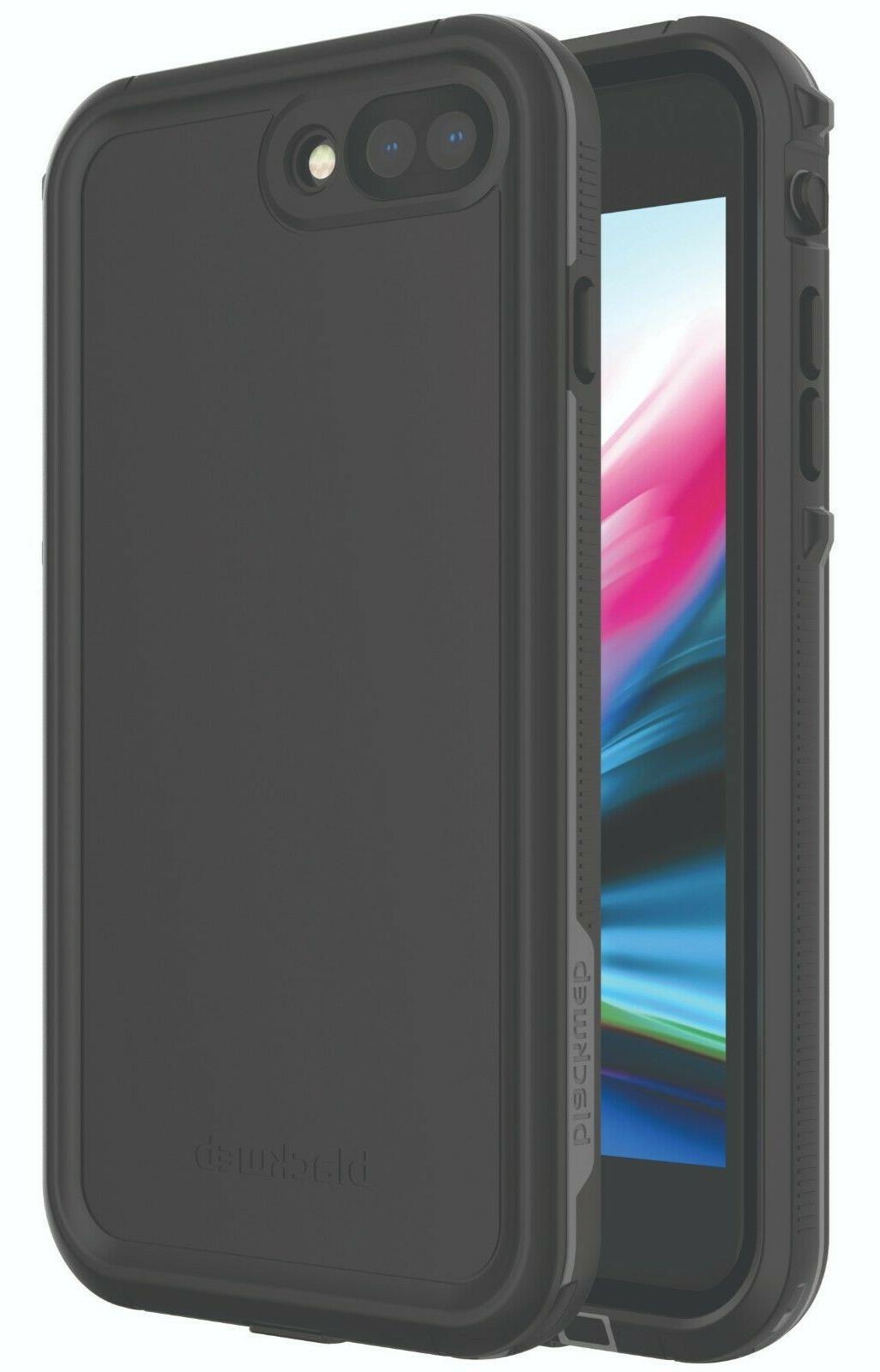 Blackweb Waterproof Phone Case for iPhone 7PLUS/8 PLUS - Black