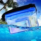 Blue Waterproof Waist Bag Case Pouch Pack for Kayaking/Swimm