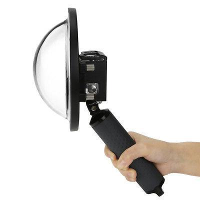 camera diving housing lens waterproof casing included