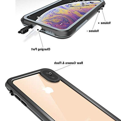 Case iPhone Max, Rugged Clear 6.5