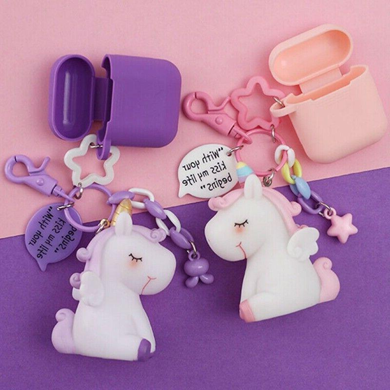Cute Unicorn Silicone Case for Airpods