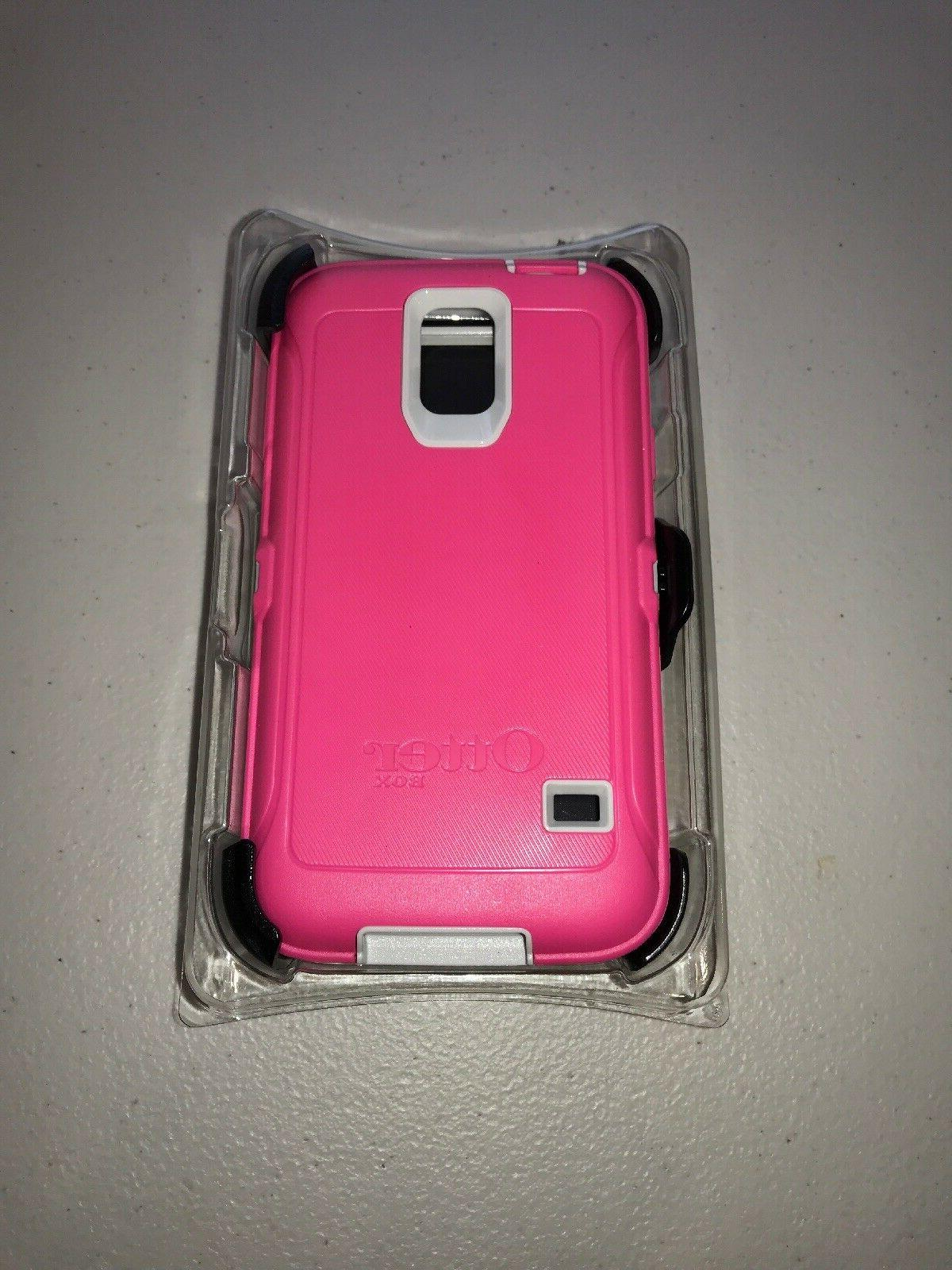 Otterbox Samsung Galaxy S5 Case - Retail Packaging Protective Case for  Galaxy S5 - Neon Rose (Whisper White/B