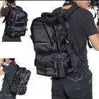 Large DSLR SLR Camera Backpack Rucksack Bag Case Rain Cover