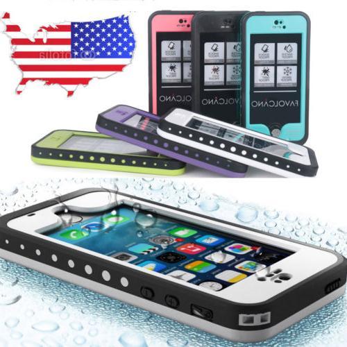 DURABLE WATERPROOF SHOCKPROOF PROOF CASE FOR APPLE IPHONE 5C